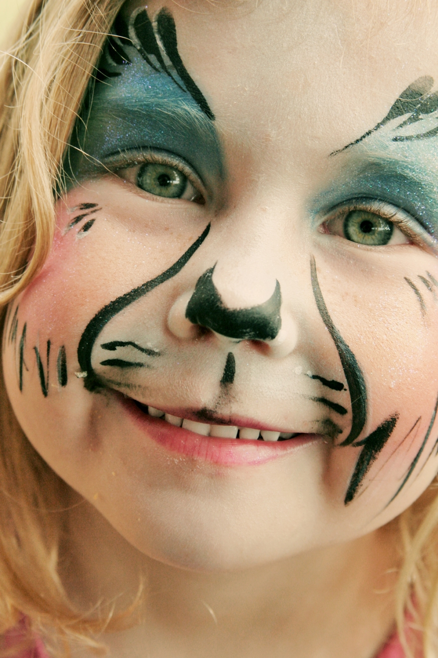 Hello Kitty, Face Painting And A Little Bit Of Birthday